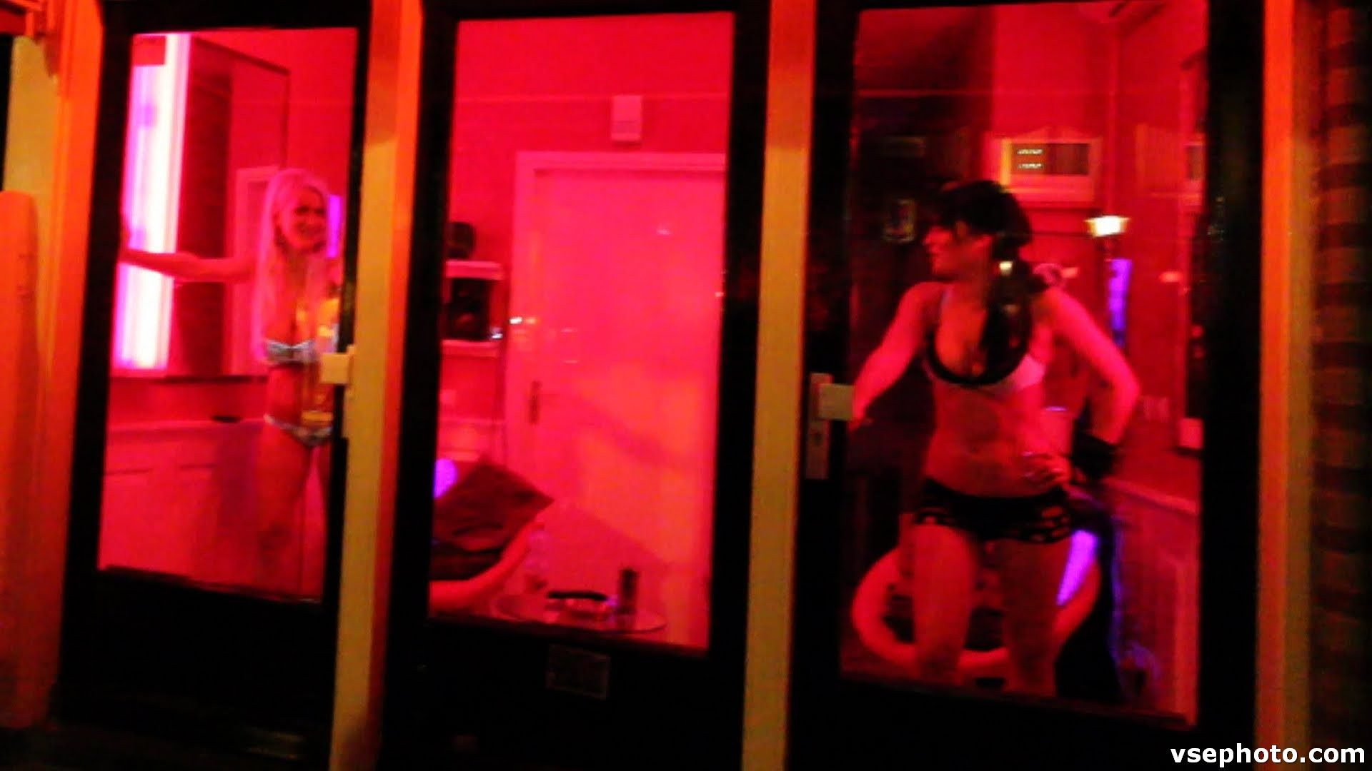 amsterdam red light district services